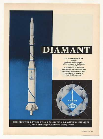 SEREB Diamant Space Rocket (1966)