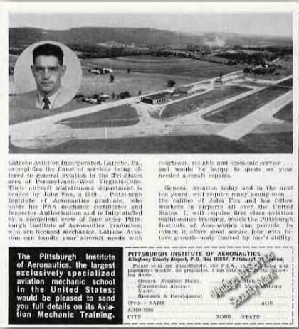 Pittsburgh Institute of Aeronautics Airfield (1963)