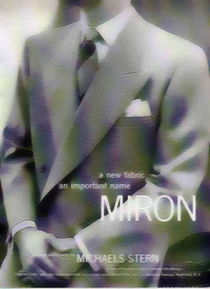 Miron Fashion – Tailored by Michaels-Stern (1949)