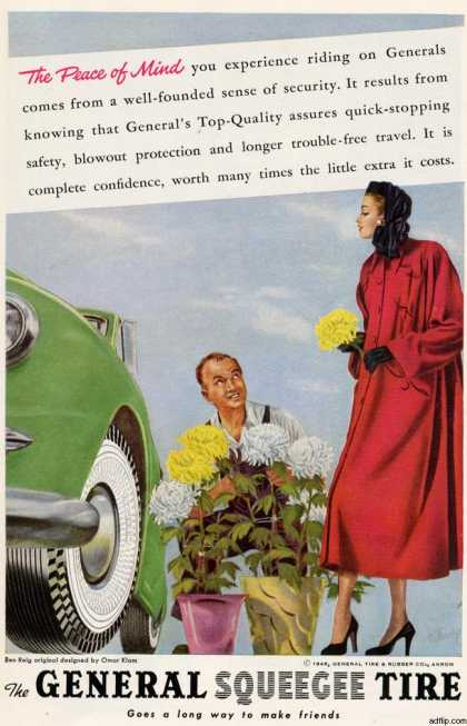 General Tire's General Squeegee Tire (1948)