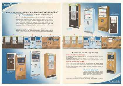 Coffee-Mat Coffee Vending Machines 4-Page Trade (1968)