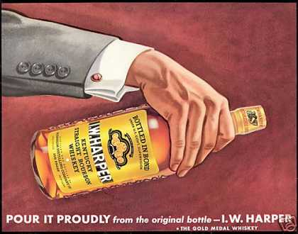 IW Harper Kentucky Bourbon Whiskey (1940)