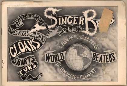Singer Bros.'s clothes (cloaks, skirts, and furs) – Winter Catalog 1905-06