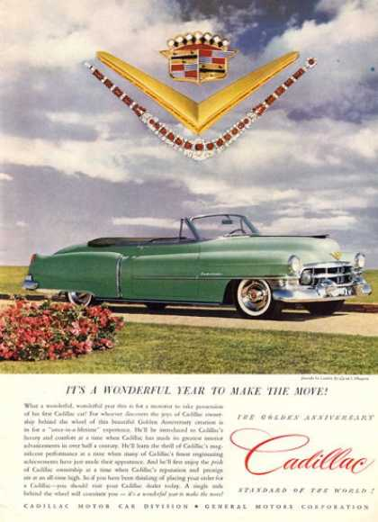 Cadillac Green Convertible (1952)