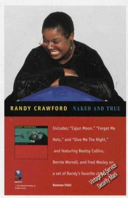 Randy Crawford Photo Music Promo (1996)
