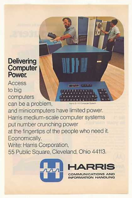 Harris S-110 Computer System (1977)