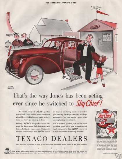 Sky Chief Texaco Dealers (1940)
