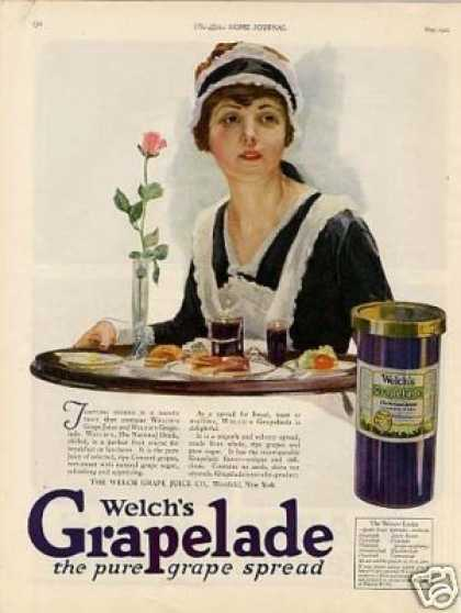 Welch's Grapelade Color (1921)