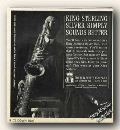Johnny Griffin King Sterling Silver Bells Promo (1964)