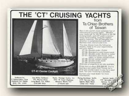 Ct-41 Center Cockpit Cruising Yacht Photo Boats (1976)