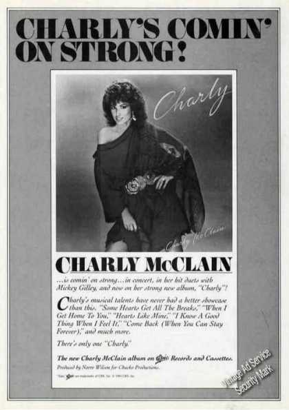 Charly Mcclain Photo Album Promo (1984)