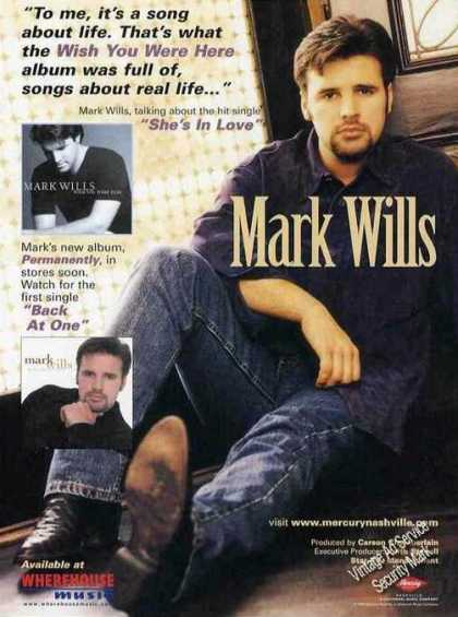 "Mark Wills Photo ""Wish You Were Here"" Album (1999)"