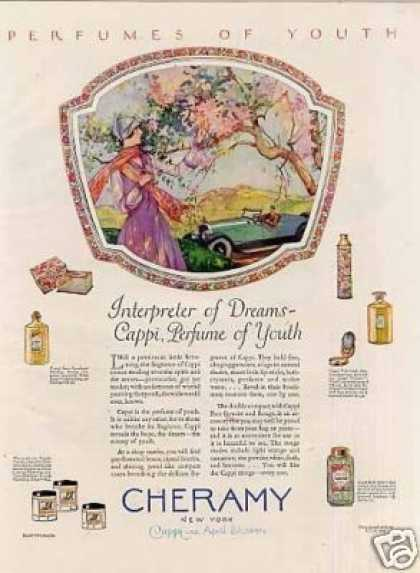 Cheramy Perfume Color (1926)