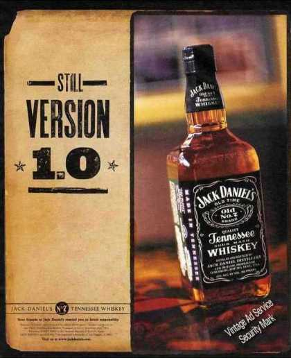 "Jack Daniel's Whiskey ""Still Version 1.0"" (2001)"