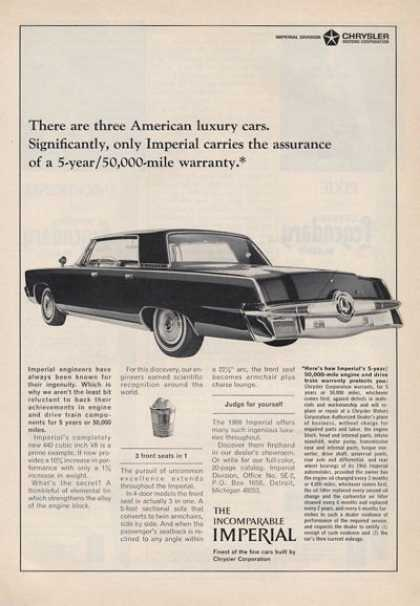 Chrysler Imperial Great Detail (1965)