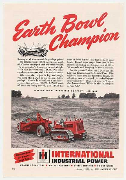International Harvester TD-24 Crawler Tractor (1950)