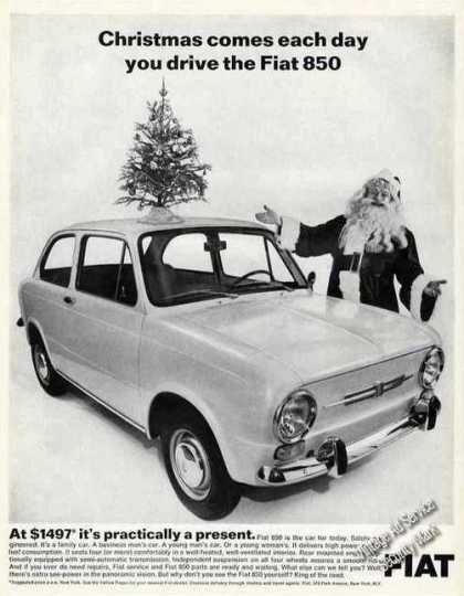 Fiat 850 Photo $1497 It's Practically a Present (1968)