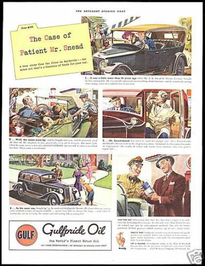 Gulf Gulfpride Car Oil Fountain of Youth Snead (1939)