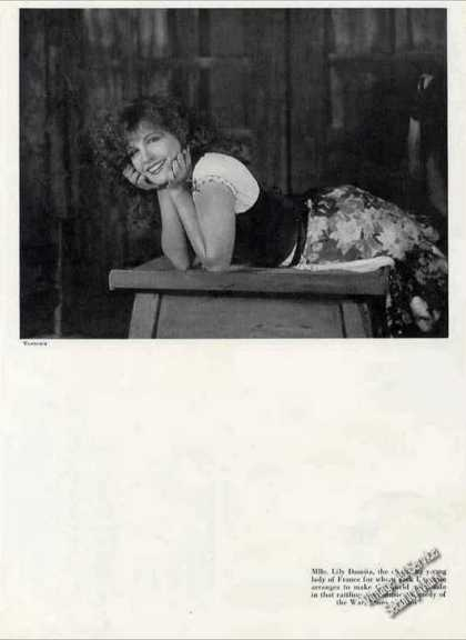 Mlle. Lily Damita From France Theatre Feature (1930)