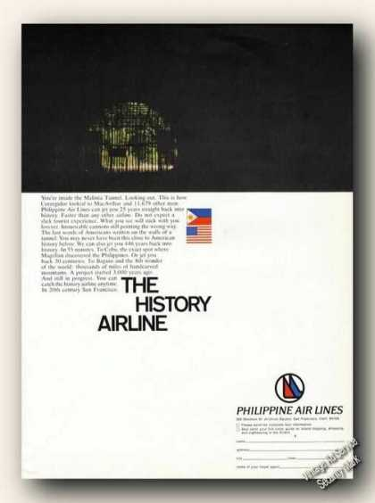 Malinta Tunnel Photo Philippine Air Lines (1967)