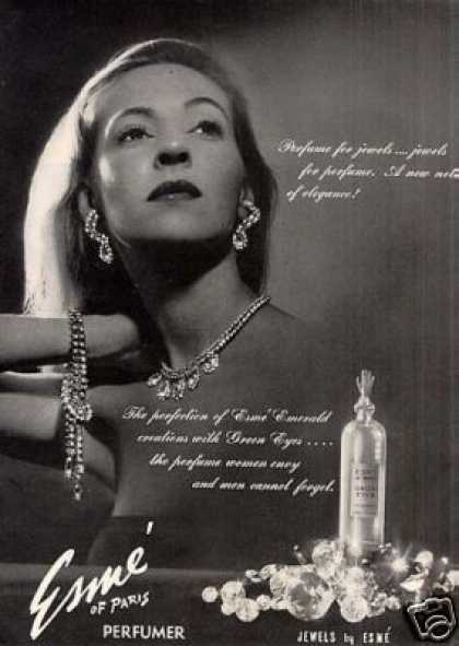 "Esme ""Green Eyes"" Perfume (1946)"