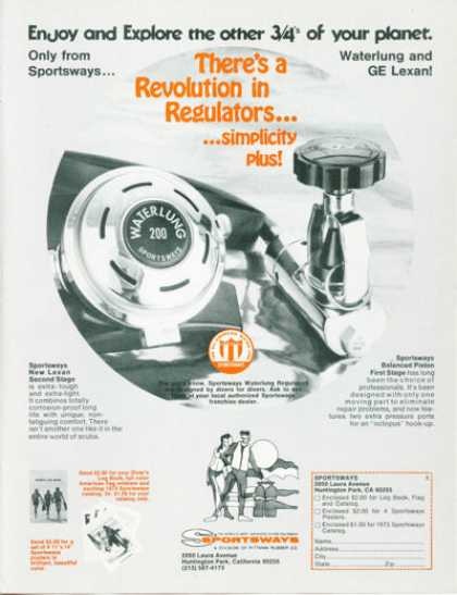 Sportsways Diving Regulator Waterlung (1973)