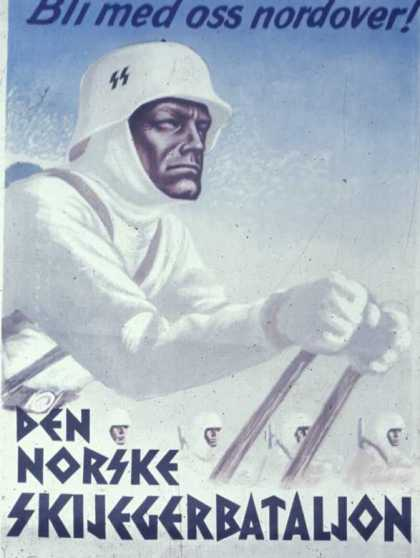 Norwegian SS recruiting poster