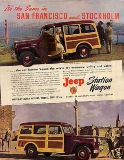 Willys-overland Jeep Station Wagon (1948)