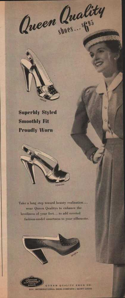 Queen Quality Womens Dress Shoes (1942)