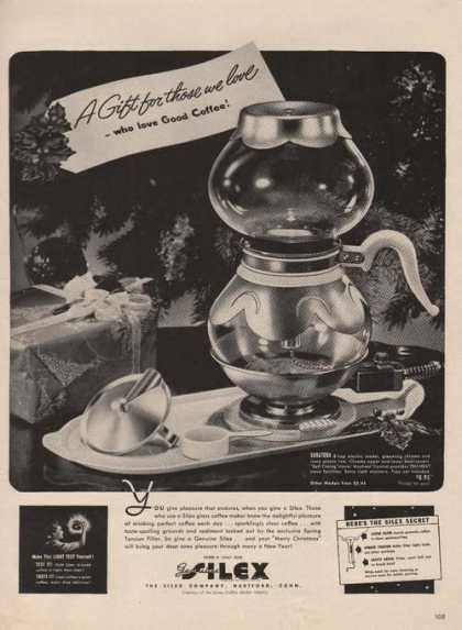 Silex Glass Coffe Maker (1941)