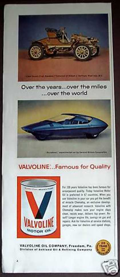 Future & Antique Cars Valvoline Motor Oil (1966)