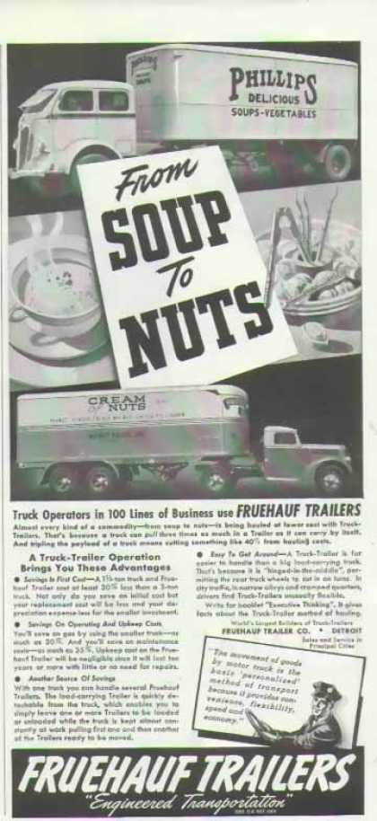 Fruehauf Trailers – Cream of Nuts (1940)