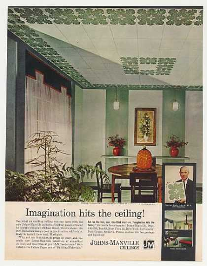 '61 Michael Greer Design Johns-Manville Ceiling Tile (1961)
