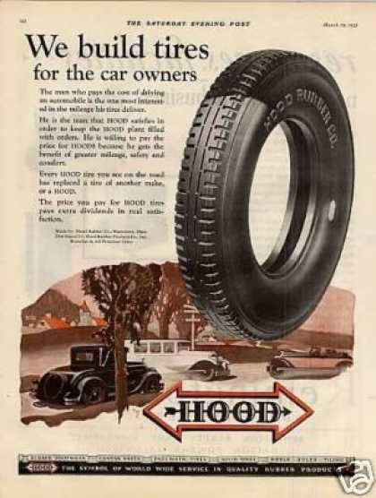 Hood Tire Color (1928)