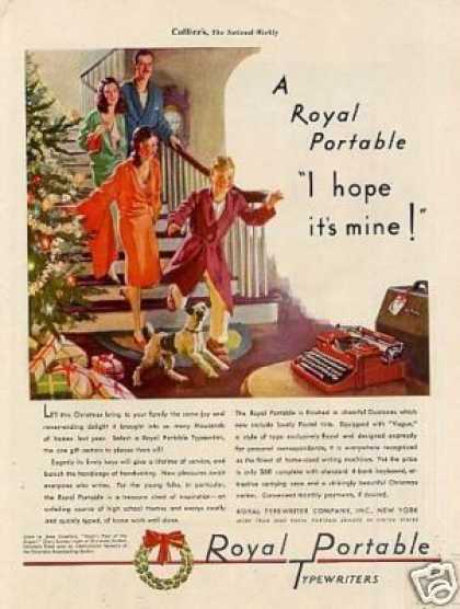 Royal Typewriter Color (1939)