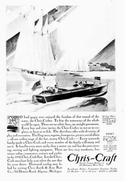 Chris Craft 24ft. Runabout (1930)