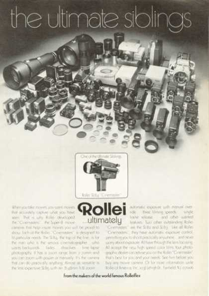 Rollei Sl84 Rolleiflex Cinemaster Camera (1972)