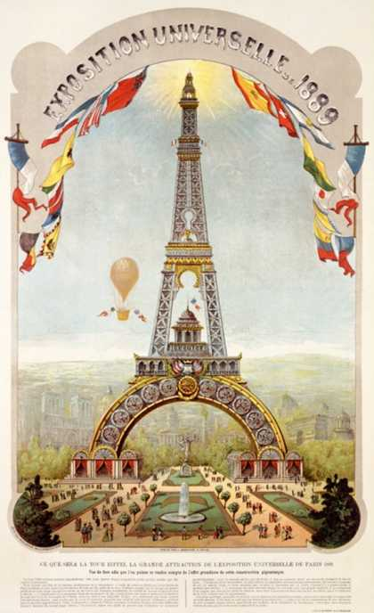 Universal Exposition Fair, Paris (1889)
