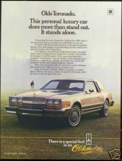 Oldsmobile Toronado Caliente Vintage Photo (1985)