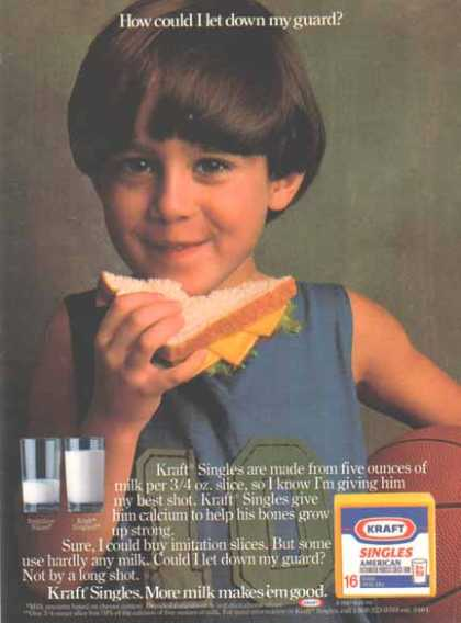 Kraft Incorporated – Kraft Singles (1987)