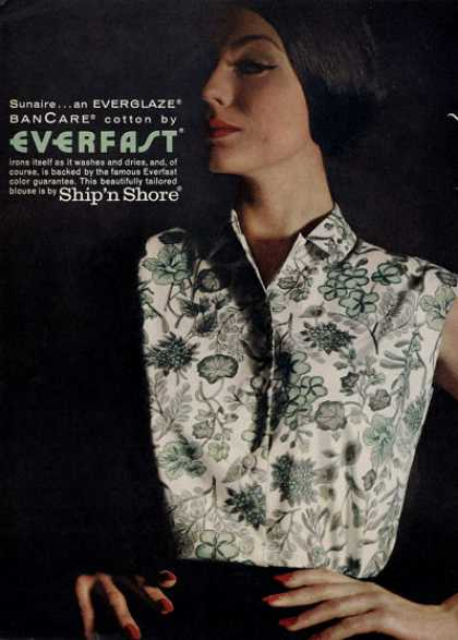Ship 'n Shore Everfast Fashion Blouse (1960)