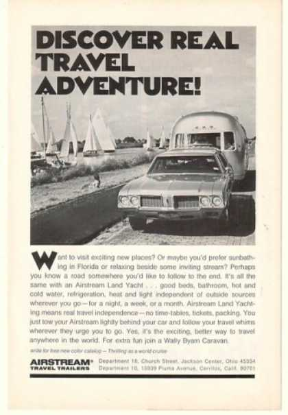 Airstream Land Yacht Travel Trailer Adventure (1972)