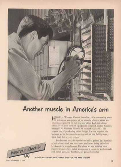 Western Electric Bell System – Sold (1952)