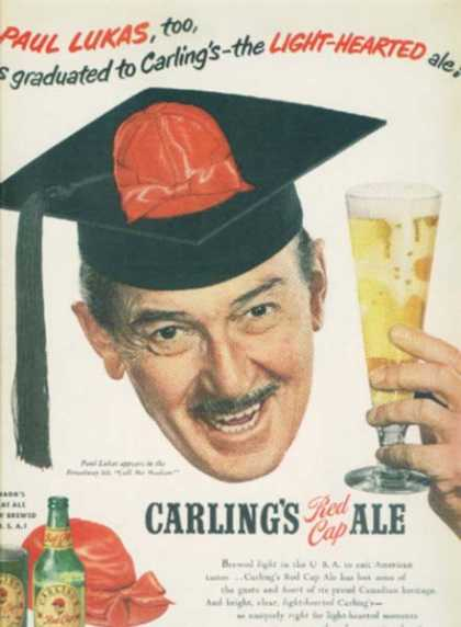 Carling's Red Cap Ale (1951)