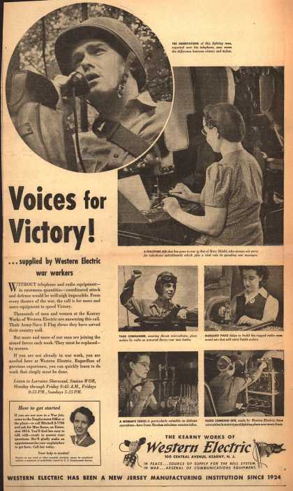 Western Electric's War Jobs – Voices for Victory (1943)