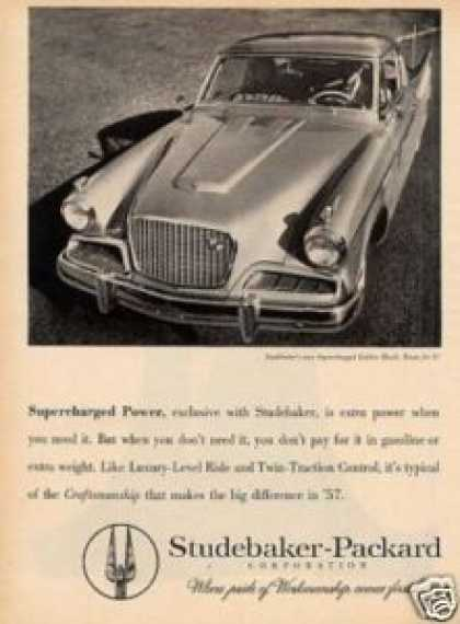 Studebaker Golden Hawk Car (1957)