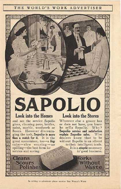 Sapolio&#8217;s Soap (1907)