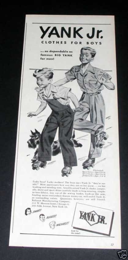 Yank Jr Clothes, Skating (1946)