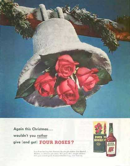 Four Roses Christmas – Snowy Bell & Roses (1949)