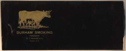 W. T. Blackwell's Durham Smoking Tobacco – Durham Smoking Tobacco Label and Wrapper